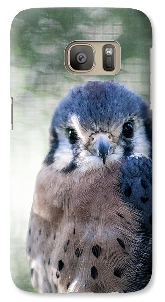 Galaxy Case featuring the photograph Raptor Profile by Dawn Romine