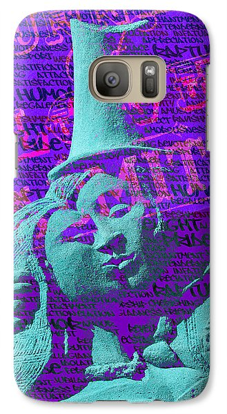 Galaxy Case featuring the digital art Rapture by Richard Farrington