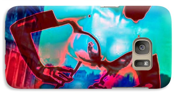 Galaxy Case featuring the digital art Rapturous In Rome by Diana Riukas