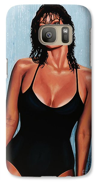 Raquel Welch Galaxy S7 Case by Paul Meijering