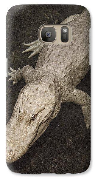 Rare White Alligator Galaxy S7 Case