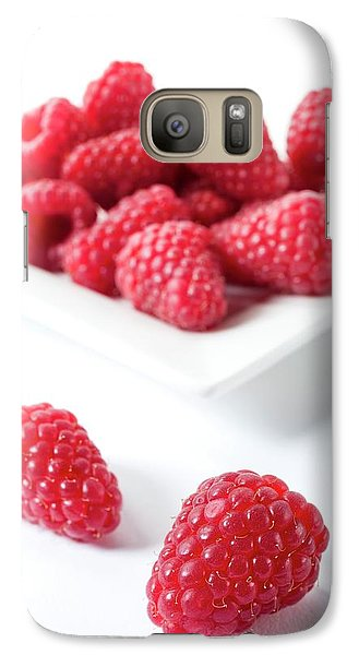 Raspberries Galaxy S7 Case by Aberration Films Ltd