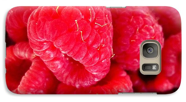 Galaxy Case featuring the photograph Raspberry Delight by Margaret Newcomb