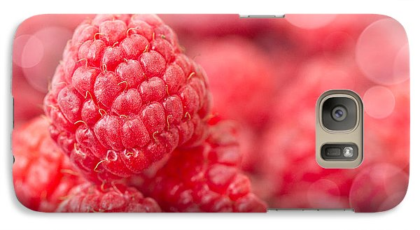 Raspberry Galaxy S7 Case - Raspberry by Delphimages Photo Creations