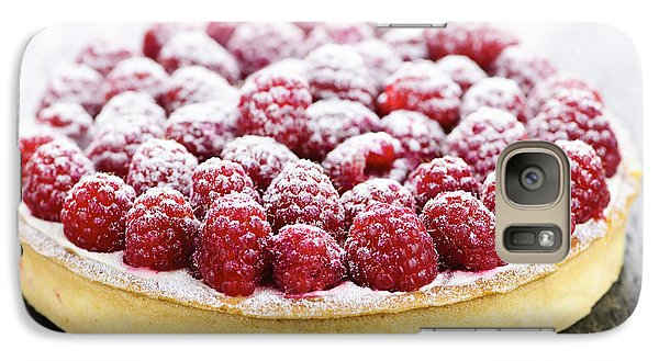 Raspberry Galaxy S7 Case - Raspberry Tart by Elena Elisseeva