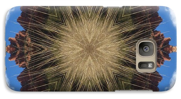 Galaxy Case featuring the digital art Rattler by Trina Stephenson