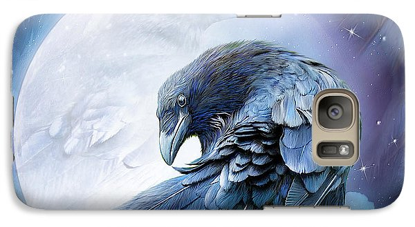 Raven Moon Galaxy S7 Case