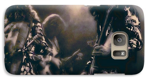 Raw Energy Of Led Zeppelin Galaxy Case by Daniel Hagerman