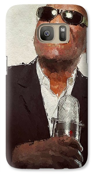 Galaxy Case featuring the painting Ray Charles by Wayne Pascall