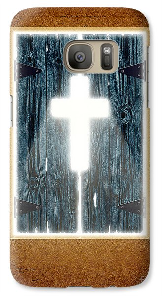 Galaxy Case featuring the digital art Ray Of Light by Cristophers Dream Artistry