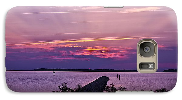 Galaxy Case featuring the photograph Rays To Heaven by Kelly Reber