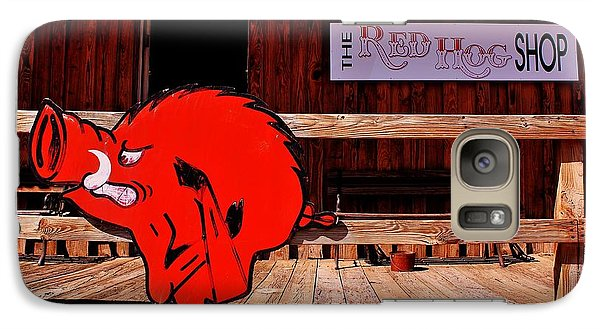 Razorback Country Galaxy Case by Benjamin Yeager