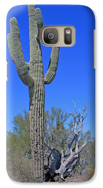 Galaxy Case featuring the photograph Reach For The Skies by Kathleen Scanlan