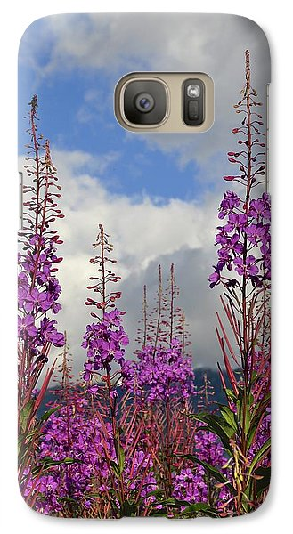 Galaxy Case featuring the photograph Reach For The Sky by Cathy Mahnke