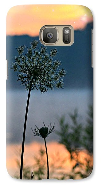 Galaxy Case featuring the photograph Reach For Your Star by Lila Fisher-Wenzel