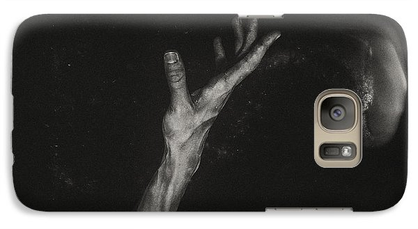 Galaxy Case featuring the photograph Reach by James Bethanis