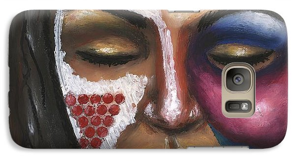 Galaxy Case featuring the painting Reaching Deep Within by Alga Washington
