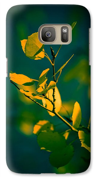 Galaxy Case featuring the photograph Reaching For The Light by Dave Garner
