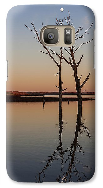 Galaxy Case featuring the photograph Reaching For The Moon II by Scott Bean