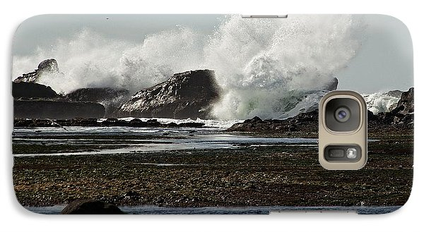 Galaxy Case featuring the photograph Reaching For The Sky by Dave Files