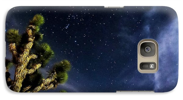 Galaxy Case featuring the photograph Reaching For The Stars by Angela J Wright