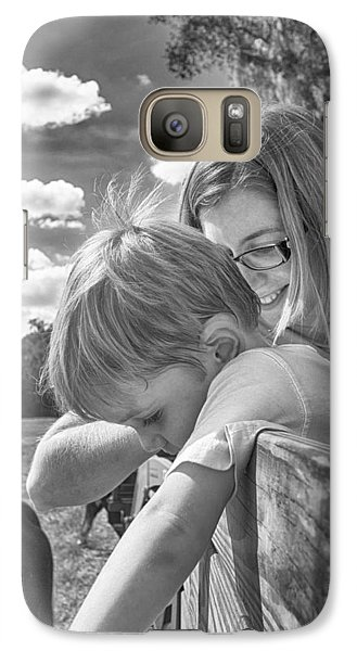 Galaxy Case featuring the photograph Reaching by Howard Salmon