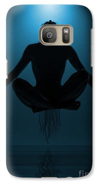 Galaxy Case featuring the photograph Reaching Nirvana.. by Nina Stavlund