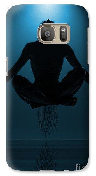 Reaching Nirvana.. Galaxy Case by Nina Stavlund
