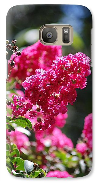 Galaxy Case featuring the photograph Reaching Out by George Mount