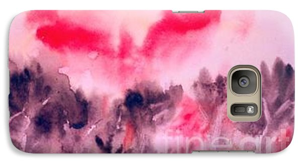 Galaxy Case featuring the painting Reaching The Sun by Fereshteh Stoecklein