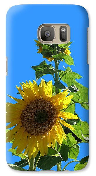 Galaxy Case featuring the photograph Reaching To The Sky by Bonnie Muir