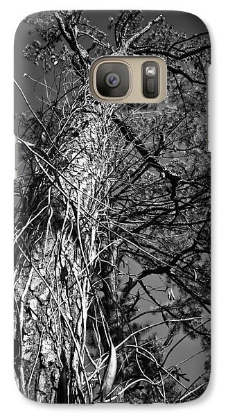 Galaxy Case featuring the photograph Reaching To The Sky by Greg Jackson