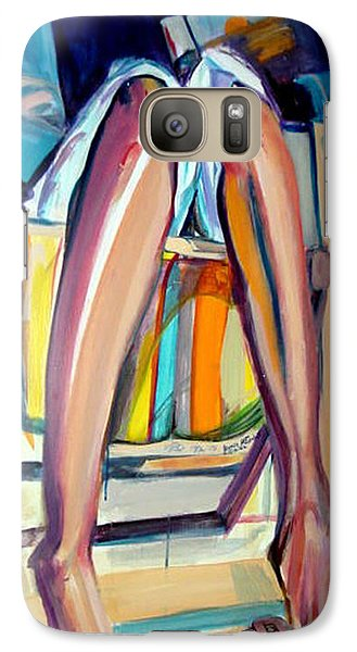 Galaxy Case featuring the painting Read On by Ecinja Art Works