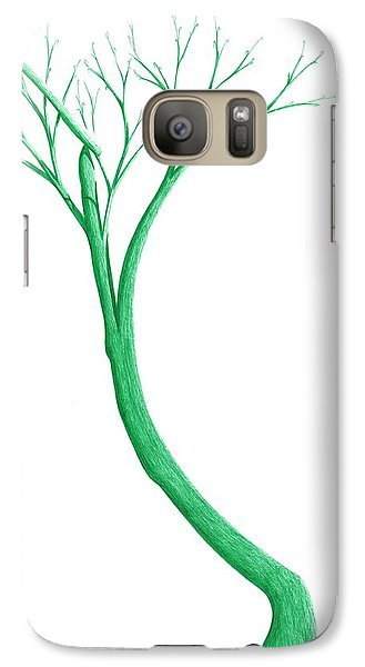 Galaxy Case featuring the drawing Reading The Signs Of Nature by Giuseppe Epifani
