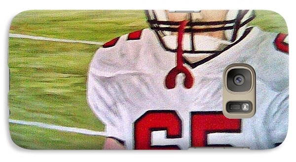 Galaxy Case featuring the painting Ready For Football by Christy Saunders Church