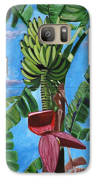 Galaxy Case featuring the painting Ready For Harvest by Laura Forde