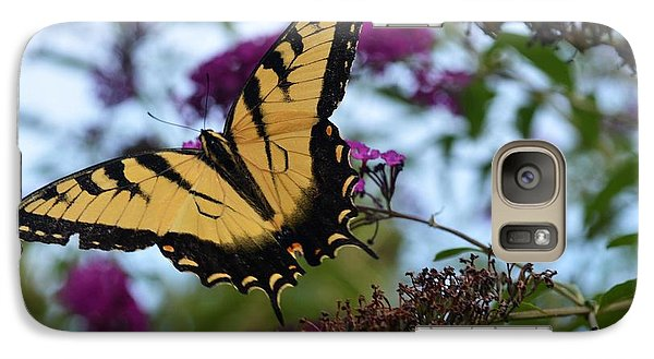 Galaxy Case featuring the photograph Ready For Take Off by Judy Wolinsky