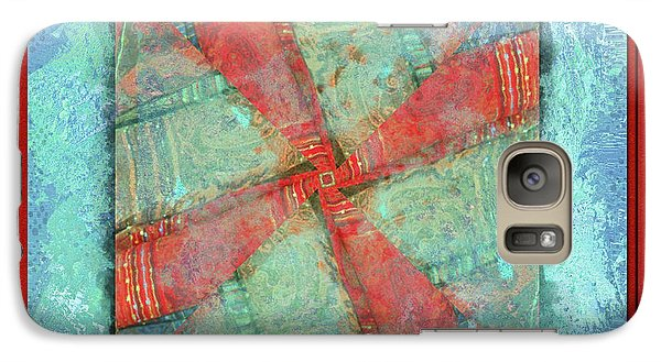 Galaxy Case featuring the photograph Ready To Begin by Barbara MacPhail