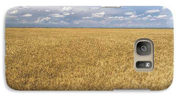Galaxy Case featuring the photograph Ready To Harvest by Rob Graham