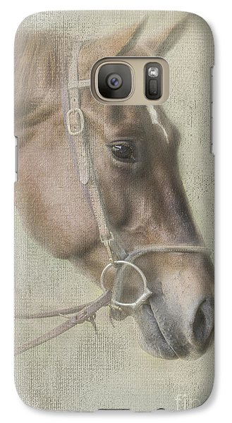 Galaxy Case featuring the photograph Ready To Ride by Linda Blair