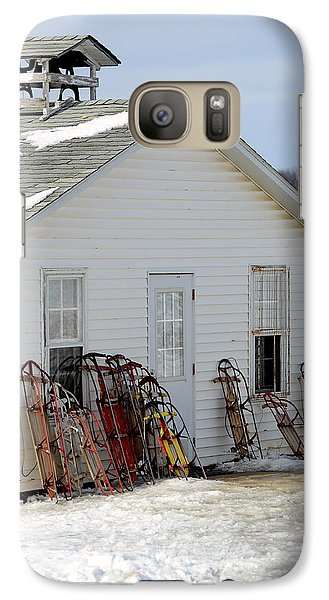 Galaxy Case featuring the photograph Ready To Ride by Linda Mishler