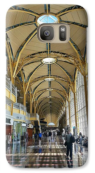 Galaxy Case featuring the photograph Reagan National Airport by Suzanne Stout