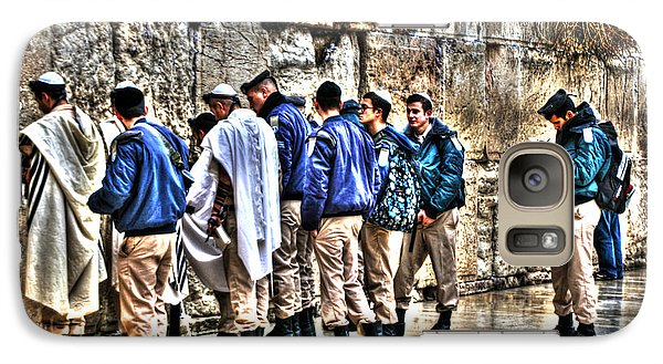 Galaxy Case featuring the photograph Real Homeland Security In Israel by Doc Braham