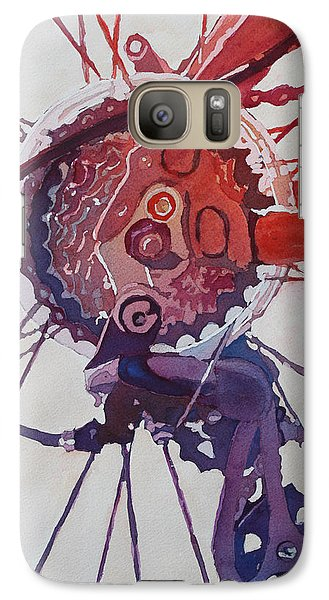 Bicycle Galaxy S7 Case - Rear Derailleur by Jenny Armitage