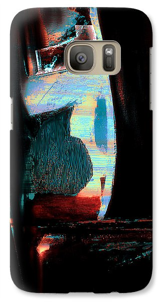 Galaxy Case featuring the painting Reasons- Ewf Series 5 by Yul Olaivar