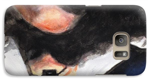Galaxy Case featuring the painting Reba by Stan Tenney