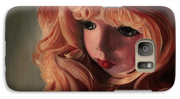 Galaxy Case featuring the painting Rebecca by Jane Autry