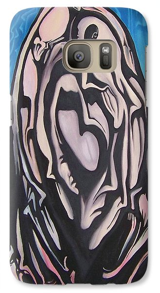 Galaxy Case featuring the painting Recluse by Michael  TMAD Finney