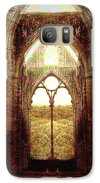 Galaxy Case featuring the digital art Recollection  by Delona Seserman