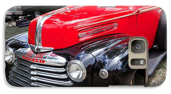 Galaxy Case featuring the photograph Red And Black Mercury Pick Up by Mick Flynn